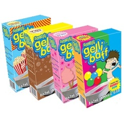 3 x Smelli Gelli Baff Multipack - Smelly Scented Bath Jelly (Popcorn, Fairy Floss & Bubblegum)