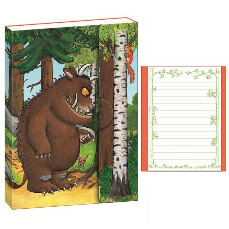 A5 notebook notepad lined paper the gruffalo stationery blueprint malvernweather Images
