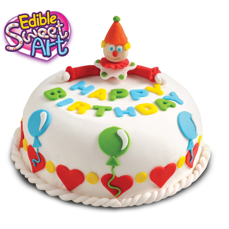 Birthday cake decoration large 3239 edible sweet art for Art cake decoration