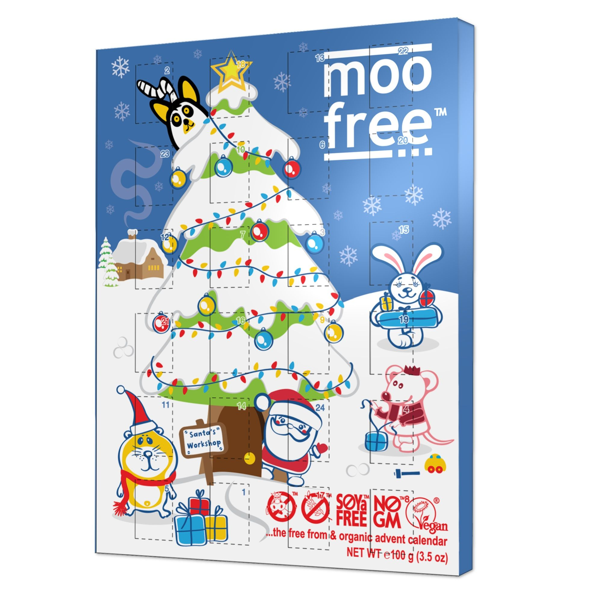 Christmas Advent Calendar Organic Dairy Free Milk