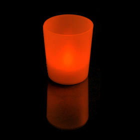 Colour Changing PARTYLITE Tealight LED in Holder Battery Operated SmartCandle