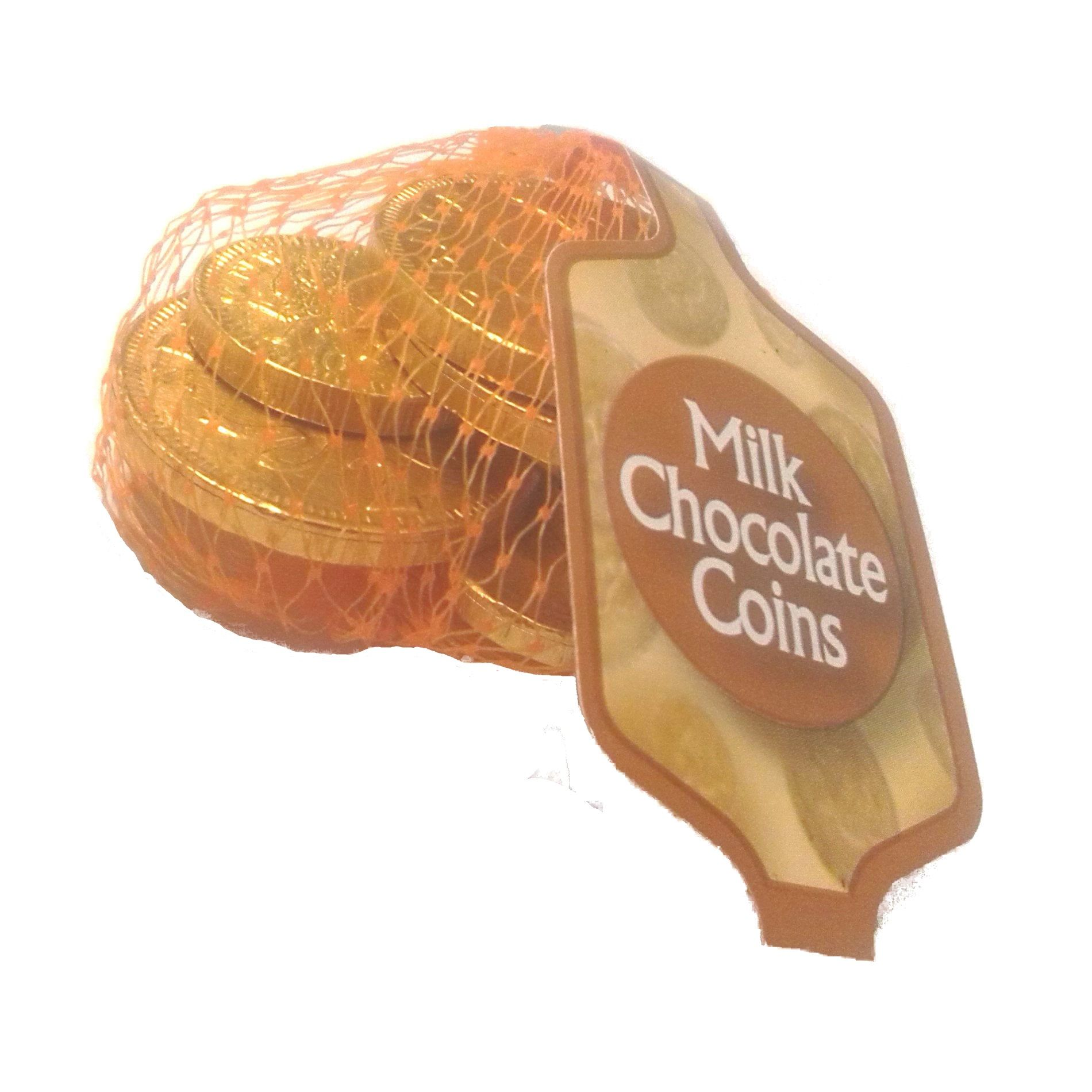 bag chocolate coins