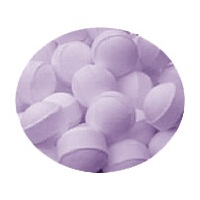 Lavender Mini Bath Marbles Fizzers - Bath Bubble & Beyond 10g Each