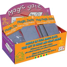 Mini Magic Slates - Pocket Scribblers with Pen - Party Bag Filler / Favour