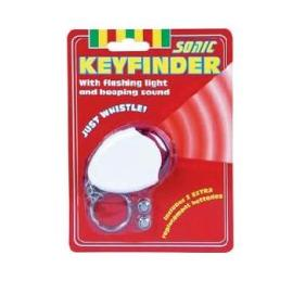 Sonic Battery Operated Key Finder Just Whistle To Find Keys