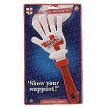 St Georges England NOISE MAKER - Hand Shaped Clapper