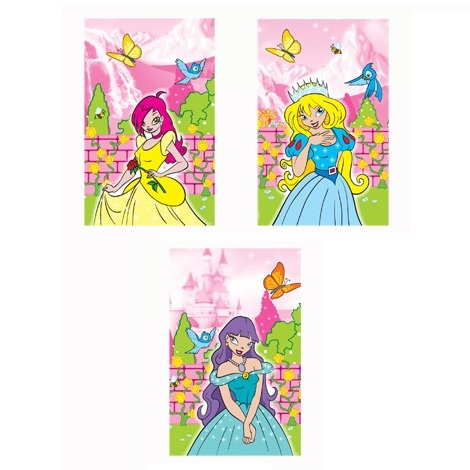 168 x Princess Notebooks Notepads Jotters - Wholesale Bulk Buy
