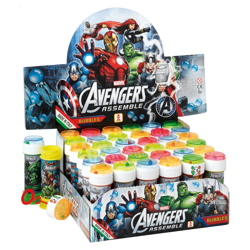 36 x Avengers Assemble Marvel - Puzzle Maze Tub Bubbles 60ml Wholesale Bulk Buy