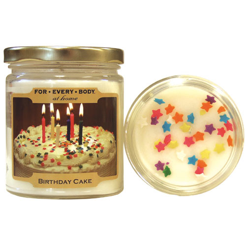 BIRTHDAY CAKE Home Baked Mini 1oz Candle In Jar For Every Body Candles 668 P