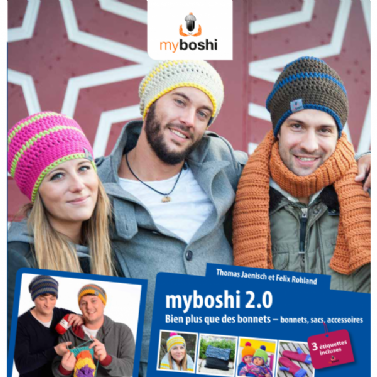 Crochet Book 2.0 - Patterns For DMC Myboshi Beanie Hats, Gloves, Scarves & Bags