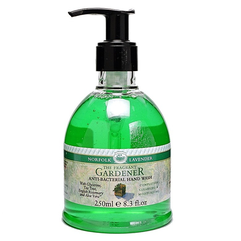 HAND WASH  FRAGRANT Anti-Bacterial GARDENER Norfolk Lavender 250ml