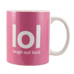 LOL (Laugh Out Loud) Text Speak Mug