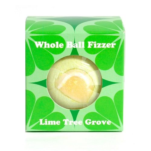 Lime Tree Grove Scented Bath Fizzers Bombs Gift Box - Bath Bubble & Beyond 180g
