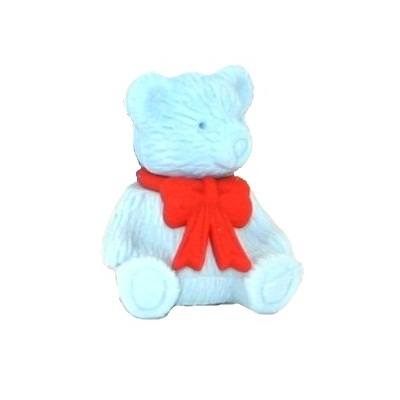 Little Bear - 3d Novelty Erasers Rubbers (One Supplied)