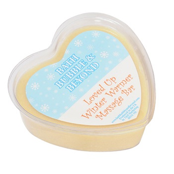 Loved Up Winter Warmer Edible Gingerbread Massage Bar Christmas - Bath Bubble & Beyond 70g