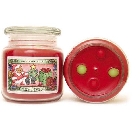 MERRY CHRISTMAS - Christmas Folk Art Range 15oz Candle in ...