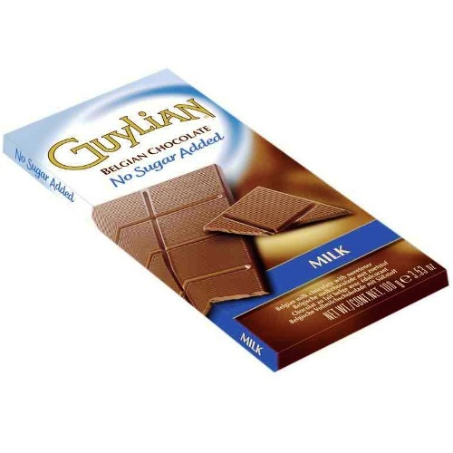 Milk No Sugar Added Free GUYLIAN Belgian Chocolates Bar 100g