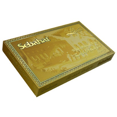Mixed Nuts Flavour SEBAHAT LOKOUM Deluxe Turkish Delight 400g