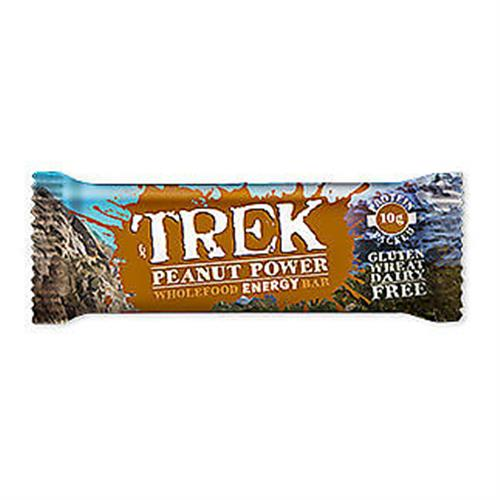 Peanut Power - Trek Protein Energy Bar - No Added Sugar Gluten & Wheat Free 55g