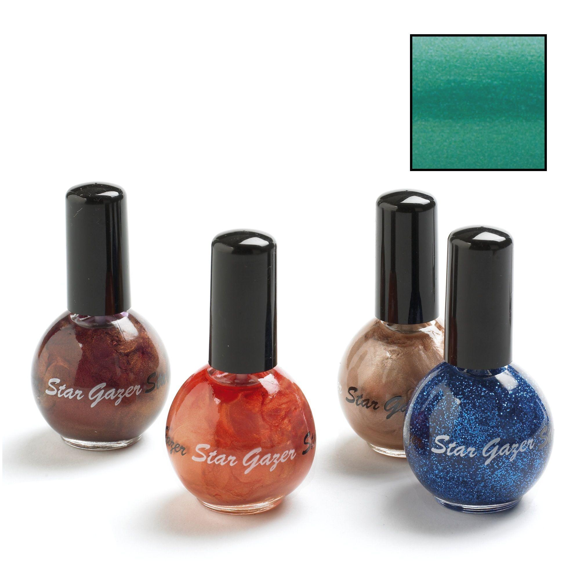 Blue Nail Varnish Uk: Pearl Turquoise Blue 154 Coloured Nail Polish Varnish