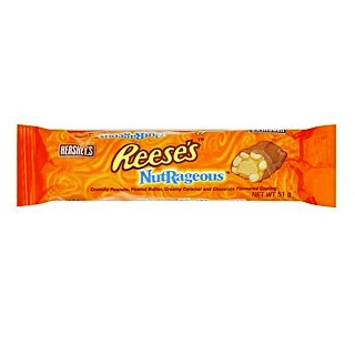 Reese S Nutrageous Peanut Butter Hershey S American Chocolate Candy Bar 51g