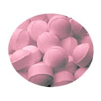 Rhubarb & Custard Mini Bath Marbles Fizzers - Bath Bubble & Beyond 10g Each