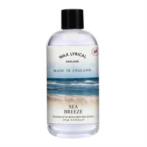 Sea Breeze Fragranced Reed Diffuser Refill Made In England Wax Lyrical 250ml
