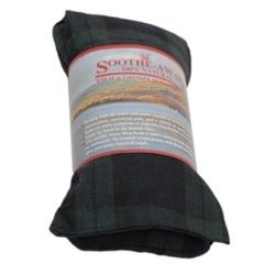 TARTAN BLUE Design Lavender Herbal Heat Wheat Bag Hot & Cold Pack