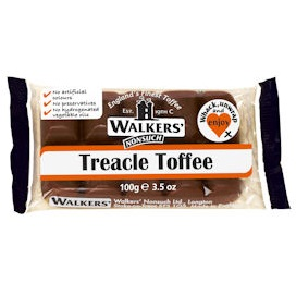 Treacle - Walker's Nonsuch Tray Toffee 100g (10 x Packs)