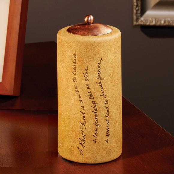 Best Friend Comfort Candles Ceramic Candle Holder Amp Tealight