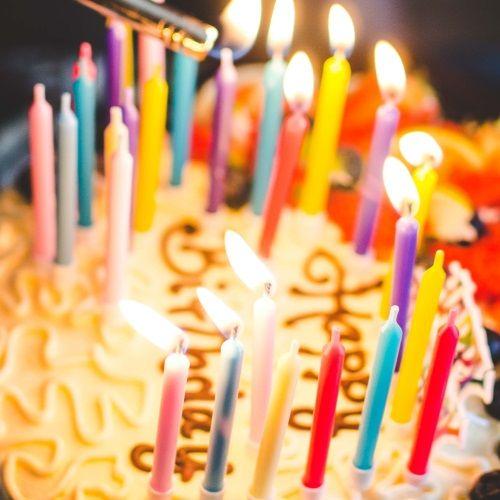 Birthday Cake Candles Sparklers