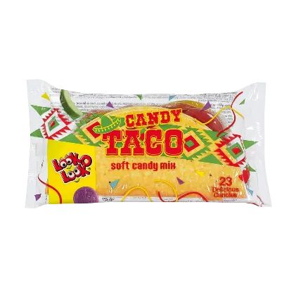 Candy Taco Assorted Jelly Candies Sweets Look O Look 115g