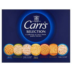 Carr's Cheese Crackers Savoury Biscuits Selection Box 200g