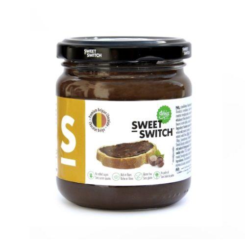 Chocolate Hazelnut Spread No Added Sugar Free Stevia Sweet Switch 200g