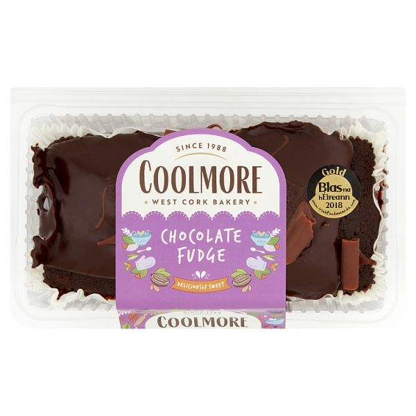 Coolmore Chocolate Fudge Cake Fresh Baked Loaf 400g