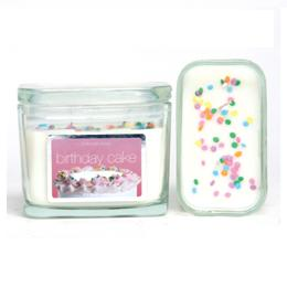 Double Wick Happy Birthday Cake 10oz For Every Body Candles Special Offer 15663 P