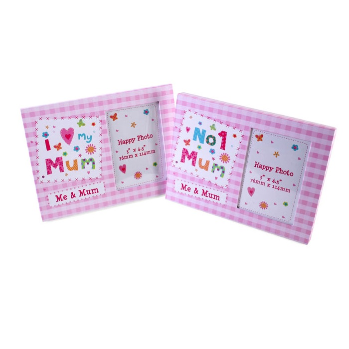 I Love My Mum - Photo Frame - Mother s Day Gift Box Set