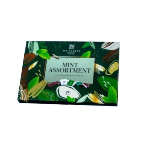 Mint Selection - Assorted Milk & Dark  Whitakers Chocolates Box 225g