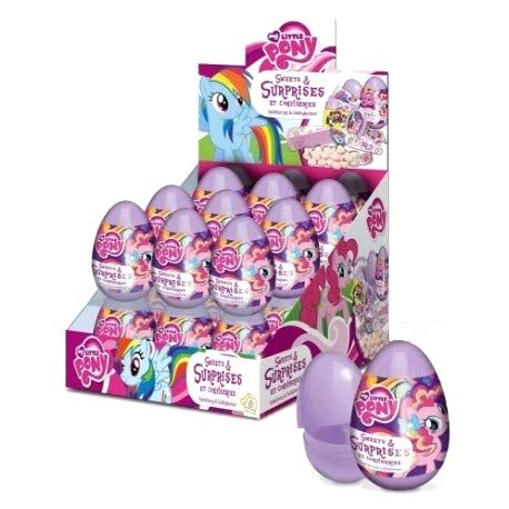 My Little Pony Character Sweets & Surprises Eggs - Bon Bon Buddies 10g
