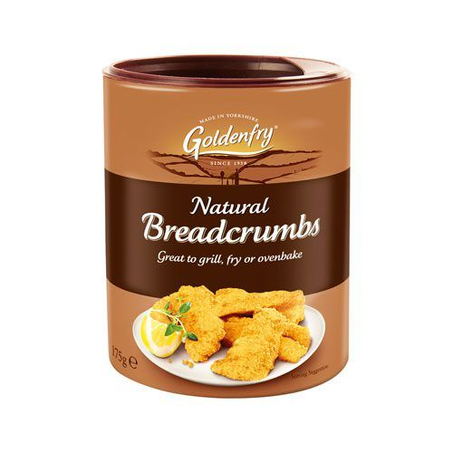 Natural Breadcrumbs Goldenfry Tub 175g
