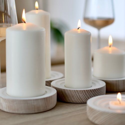 Unscented Candles & Tapers