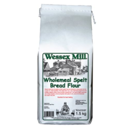 Wholemeal Spelt Bread Flour Wessex Mill 1.5kg