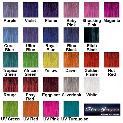 Blue Black Semi Permanent Hair Colour Rinse Dye Stargazer 70ml