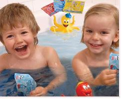 Tinti - Children's Coloured Bathtime Fun